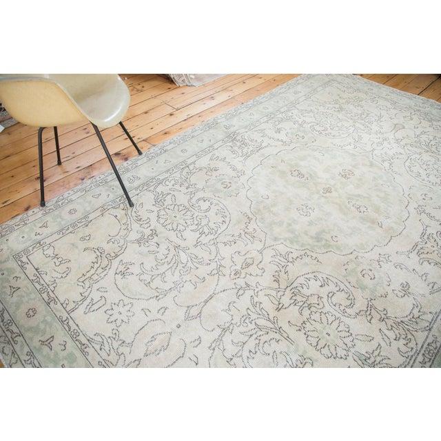 "Distressed Oushak Carpet - 6'3"" X 10' - Image 7 of 8"