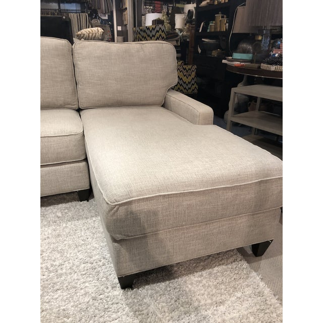 Cr Laine 2 Piece Sectional Sofa For Sale In Chicago - Image 6 of 9