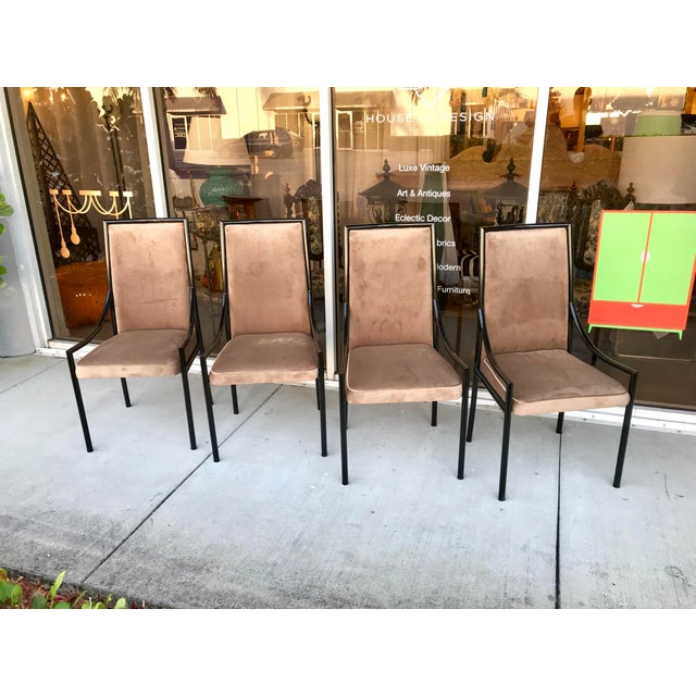 Mid 20th Century Restored Mid-Century Dining Chairs, Set of 4 For Sale - Image 5 of 11