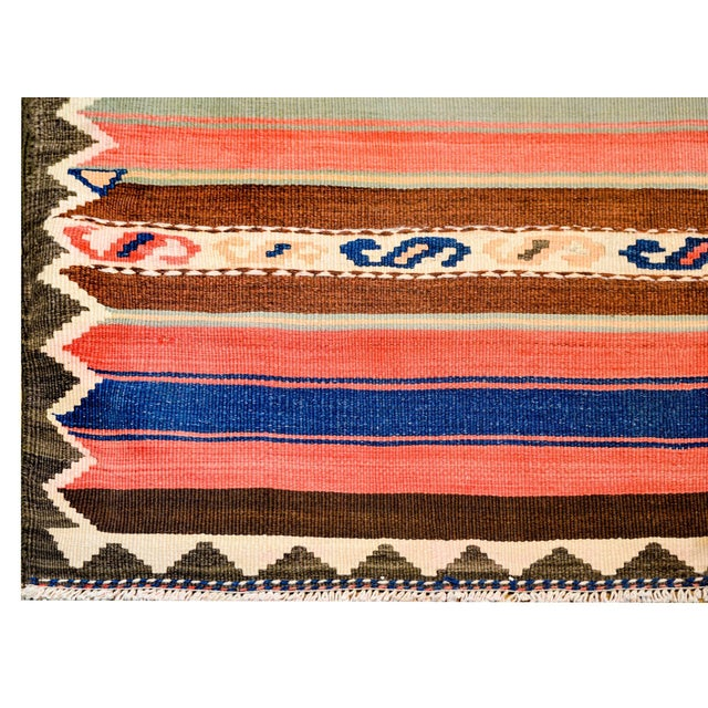 Early 20th Century Shahsevan Kilim Runner For Sale - Image 4 of 7
