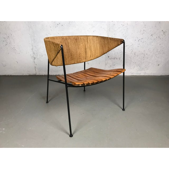 Exceptional 1950's Mid Century Modern Lounge Chair by Arthur Umanoff for Shaver Howard & Raymor For Sale - Image 11 of 13