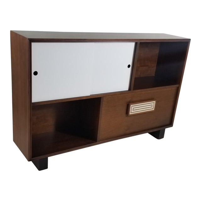 1950s Modern Style Cabinet For Sale