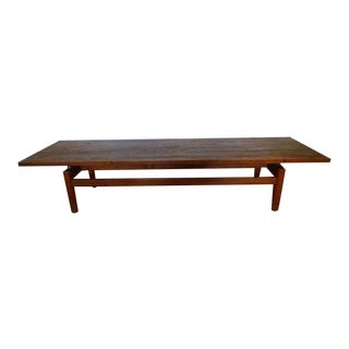 1960s Scandinavian Modern Jens Risom Coffee Table For Sale