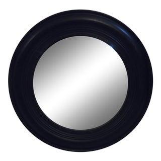 Vintage Style Black Mirror For Sale