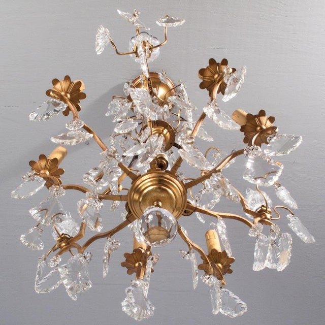 Late 19th Century 19th Century French Napoleon III Crystal Chandelier For Sale - Image 5 of 13