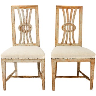 Early 19th Century Gustavian Chairs - a Pair For Sale