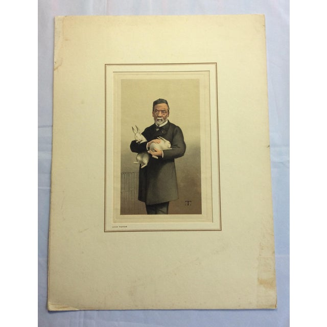Vanity Fair Prints of Scientists for Petrolagar Laboratories - Set of 7 For Sale - Image 9 of 10