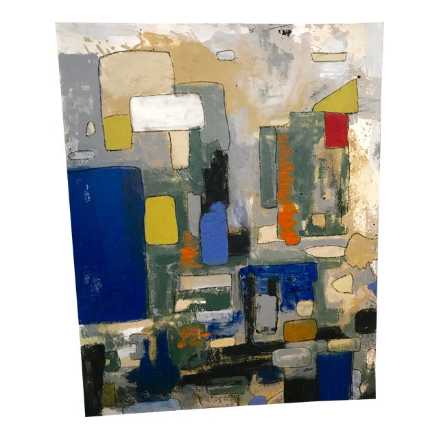 Abstract by Noted Palm Springs Artist Jeff King For Sale