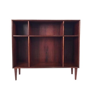 Vintage Danish Rosewood Bookcase For Sale