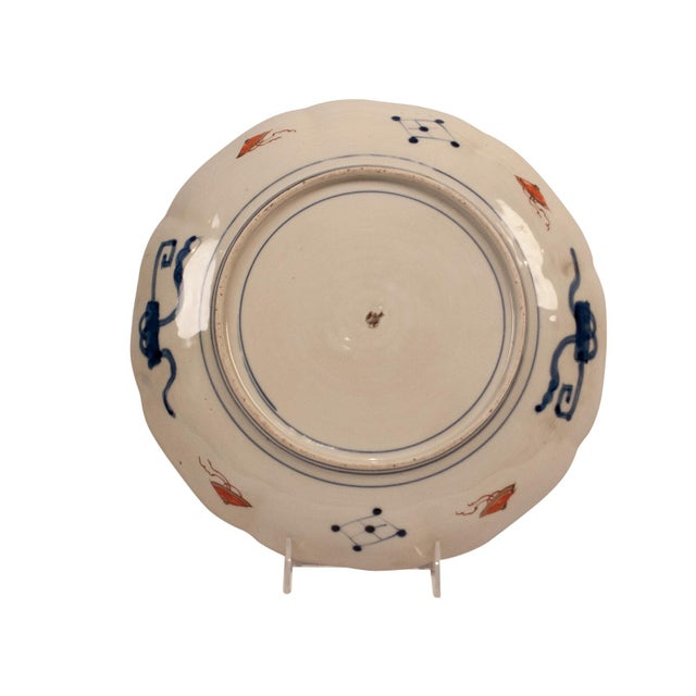 1880s Japanese Imari Porcelain Charger Plate For Sale In San Francisco - Image 6 of 7