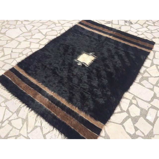 Turkish Handmade Tulu Rug - 4′6″ × 6′6″ - Image 3 of 8