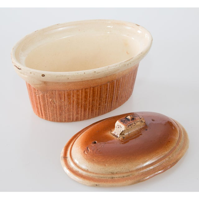 Antique French Lidded Pate Terrine For Sale - Image 4 of 8