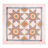 Image of Antique American Quilt Blanket For Sale