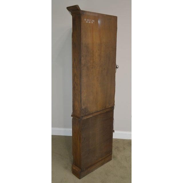 Ethan Allen Ethan Allen Royal Charter Oak Corner Cabinet For Sale - Image 4 of 13