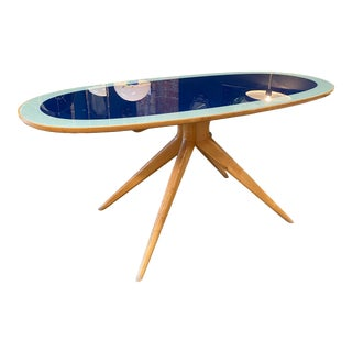 1970s Mid-Century Sculptural Table Attributed to Ico Parisi For Sale