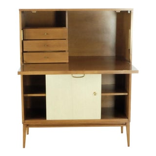 Contemporary Paul McCobb Desk With Drop Leaf For Sale