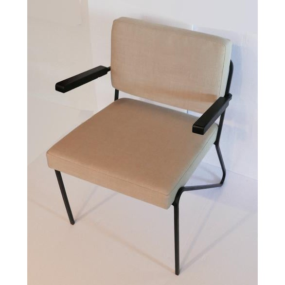 1960s 60s Wrought Iron Chair For Sale - Image 5 of 5