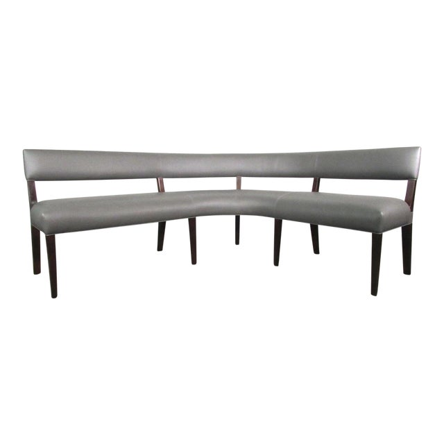 New Custom Made Constantini Curved Bruno Bench For Sale