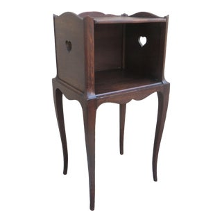 1920's Antique French Nightstand For Sale