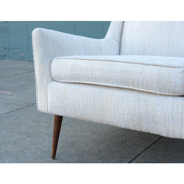 1950s Mid Century Modern Upholstered Lounge Chair For Sale In San Francisco - Image 6 of 11