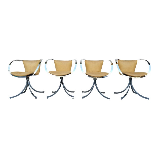 Italian Modern Chairs - Set of 4 - Image 1 of 7