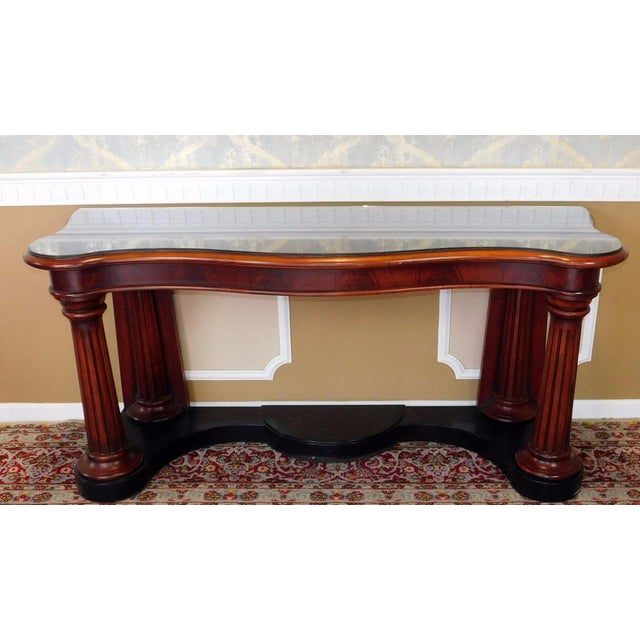 Ralph Lauren Home Collection Mahogany Console - Image 2 of 6
