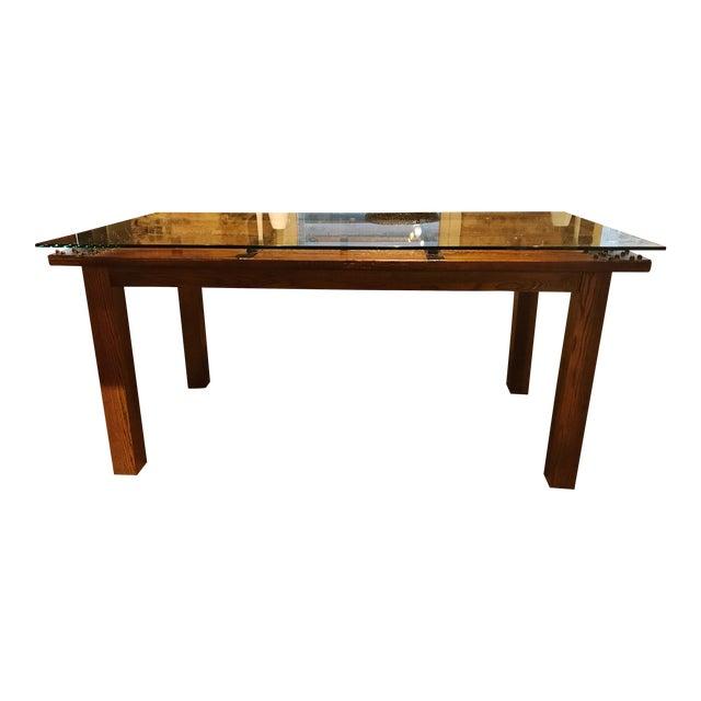 Antique Door Dining Table
