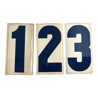 Vintage Gas Station Numbers For Sale