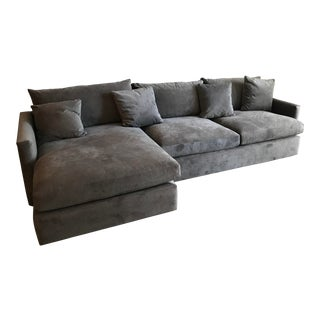 Crate & Barrel Lounge II Sectional Sofa For Sale