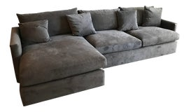 Image of Crate and Barrel Sofas