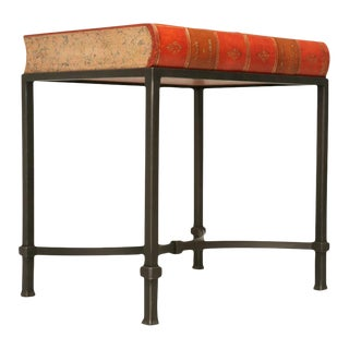 Book Shaped Storage Table For Sale