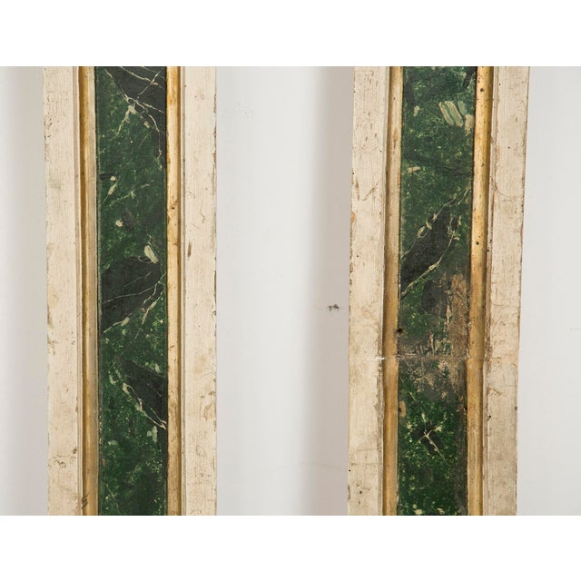 Italian 19th Century Italian Pilasters or Columns - a Pair For Sale - Image 3 of 4
