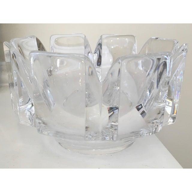 "Orrefors ""Corona"" Crystal Bowls - A Pair - Image 9 of 10"