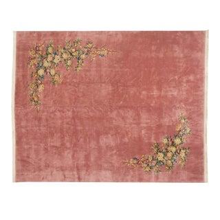 Vintage Japanese Art Deco Design Carpet - 12' X 15' For Sale