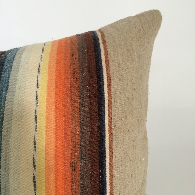 Sun Washed Sand Colored Vintage Pillow - Image 5 of 6