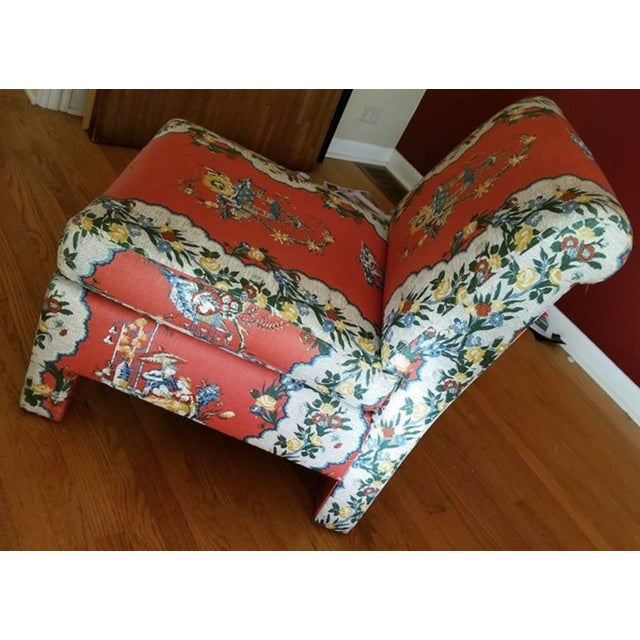 Vintage Chinoiserie Accent Chairs - A Pair For Sale In Chicago - Image 6 of 11