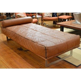 Mid Century Italian Modernist Faux Leather Daybed Preview