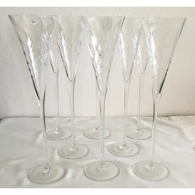 Champagne Flutes - 8 - Image 2 of 6