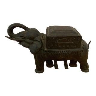 Vintage Elephant Cigarette Dispenser For Sale