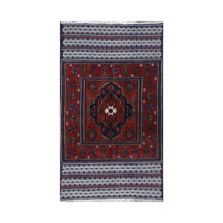 Persian Handwoven Ghochan Tribal Wool Rug - 3x5