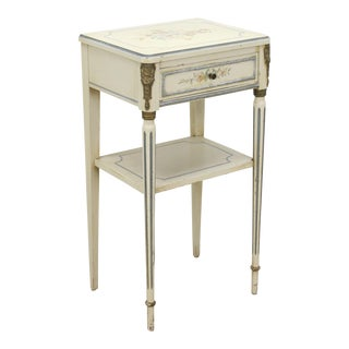 Lovely Neoclassical Style Side Table For Sale