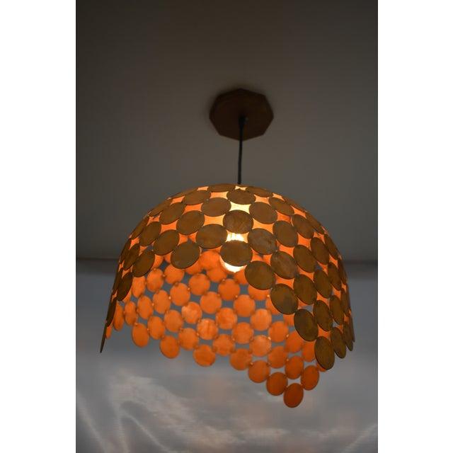 Doug Werner Oblik Studio Fishcale Pendant Light - 02 For Sale - Image 4 of 6