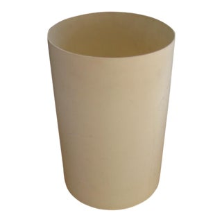 1960s Vintage G Columbini Kartell Milano Wastebasket For Sale