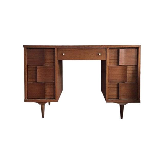 Mid Century Modern Johnson Carper Desk - Image 1 of 6
