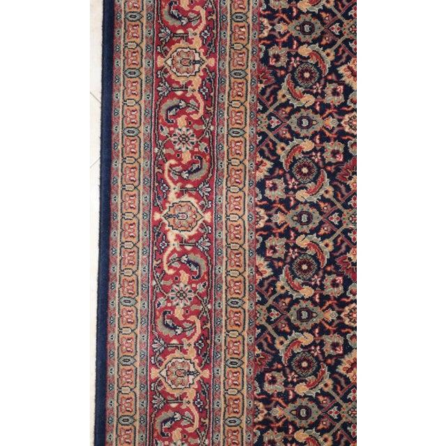 """Asian Vintage Karastan Rug-5'5'x8'6"""" For Sale - Image 3 of 6"""