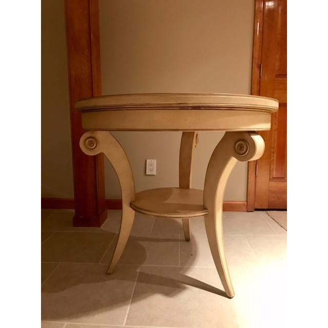 Transitional Round Accent Table - Image 5 of 6