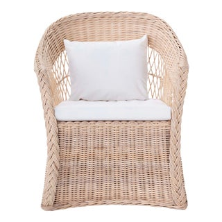 Worth Chair W/ Ivory Cushion For Sale