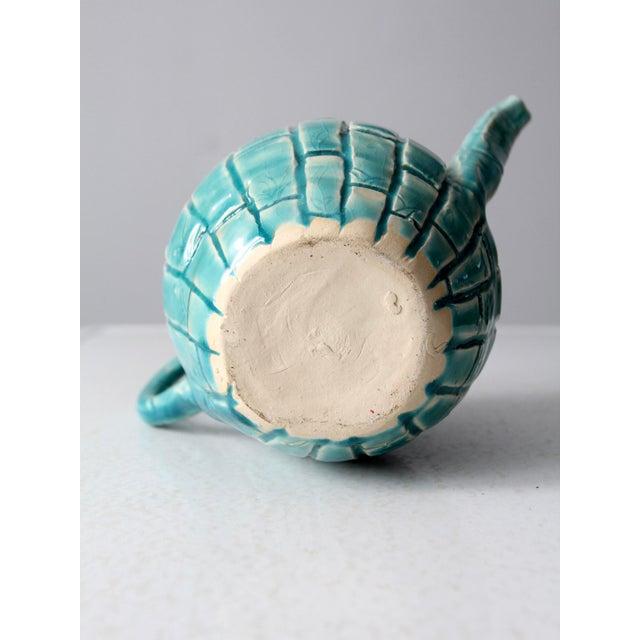 Vintage Studio Pottery Tea Pot For Sale - Image 10 of 11