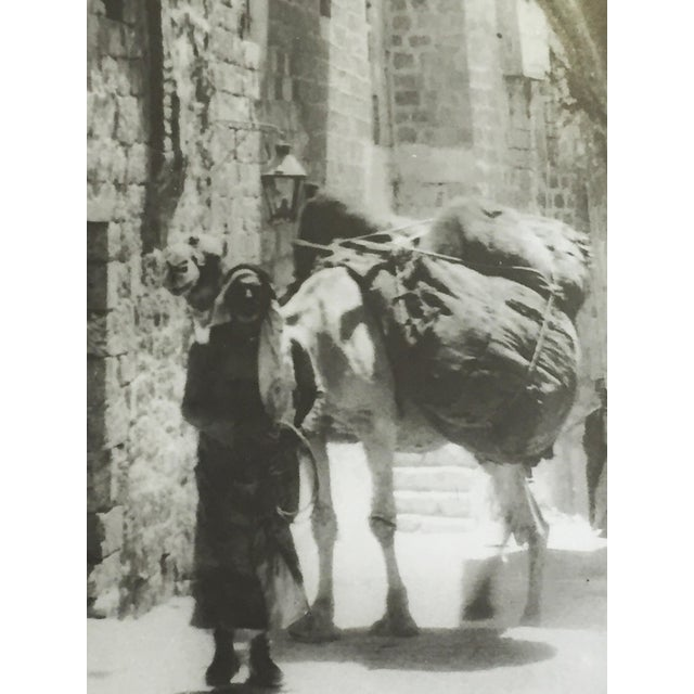 Paper Photograph Jerusalem,The Old City 1930 For Sale - Image 7 of 9