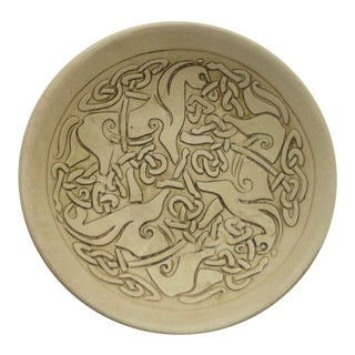 Mid-Century Abstract Horse Dish For Sale